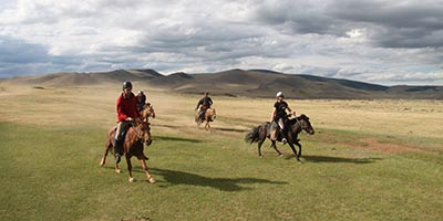 Comfort Horse riding tour in Mongolia