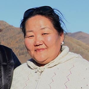 Bataa, Accountant at Mongolia Travel & Tours