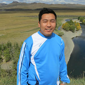 Sumiya, in charge of Catering at Mongolia Travel & Tours