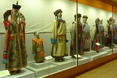 National Museum of Mongolian History in Ulan Bator - Mongolia